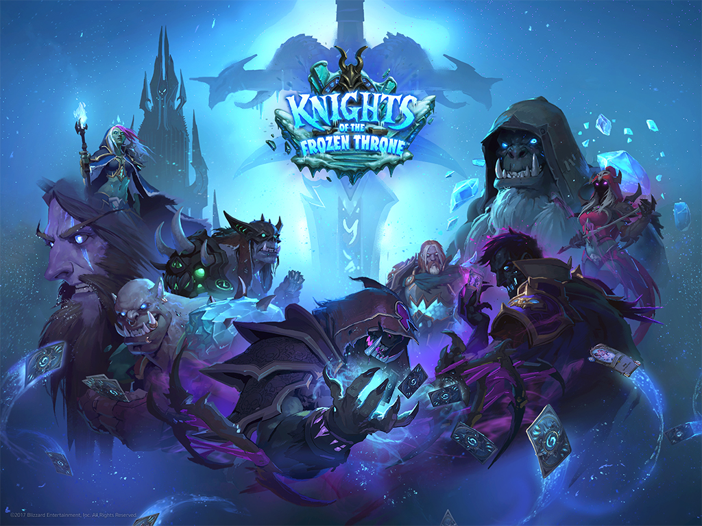 Knights Of The Frozen Throne Wallpaper: Hearthstone